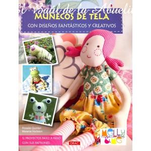 Muñecos de Tela con diseños fantásticos y creativos