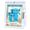 Kit Amigurumis Elefantes Sara y Simba - Hanna's Crochet
