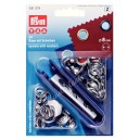 Prym kit ojales metálicos color plata 8mm